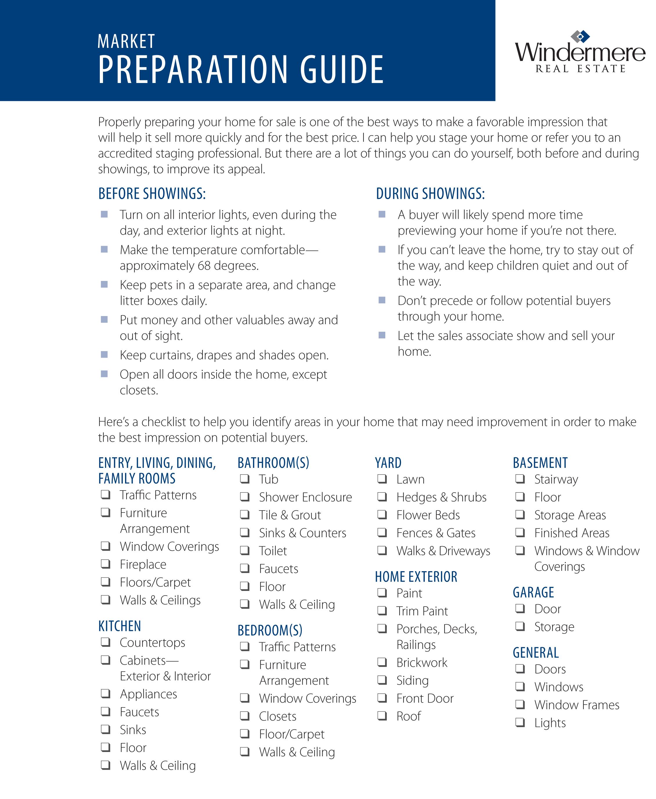 611 Market Prep Guide WORC
