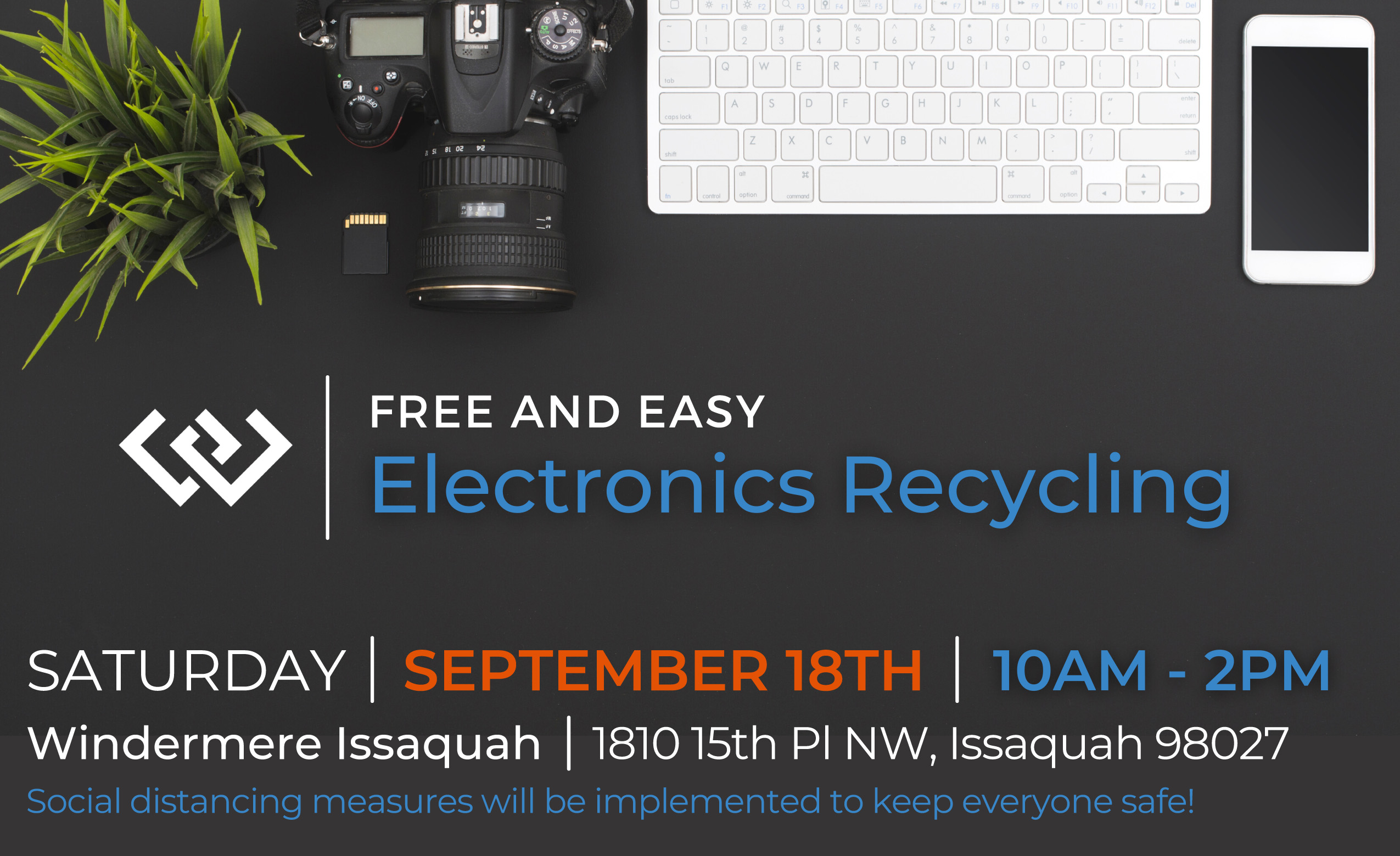 Electronic Recycle Event Flyer 2021